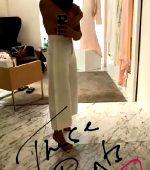 Andreea Cristina Covered Topless