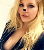 Katheryn Winnick Side Boob From Instagram Video