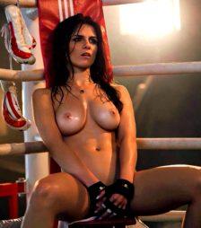 Aline Franzoi Brazilian UFC Ring Girl