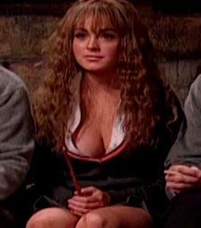Lindsay Lohan As Hermione Granger