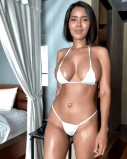 Asian big boobs model