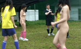 Asian nude soccer