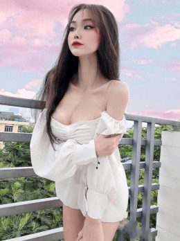 Busty Vietnamese Teen Beauty Nice Tits Tight Ass Sexy See Through Gstring Animation