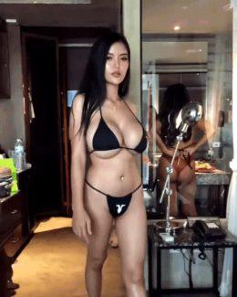 Faii Orapun – Busty Thai Model