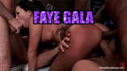 FAYE GALA INTERACIAL GANGBANG