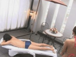 Hitomi Tanaka SMASHING his face l
