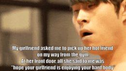 Hot Asian Boyfriend Gets Horny After Workout And Fucks Girlfriend's Slutty Friend