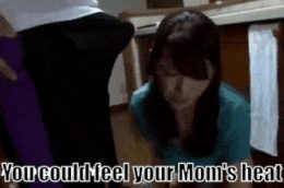 Mom surprised