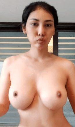 Pimpattama shaking boobs