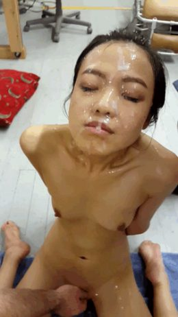 The Asian Cumdumpster – Post Bukkake Bliss