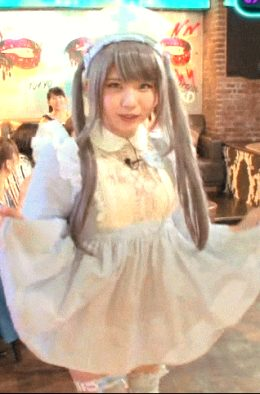 tiny japanese teen in cosplay