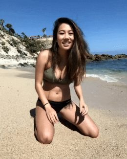 You largely spent your beach trip inside her body after chatting her up on Day 1