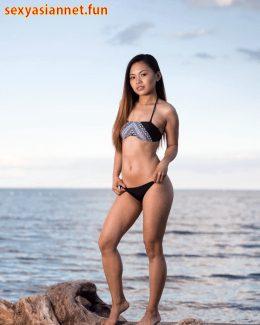 Yummy Pinay Front and Back Bikini Beauty Animation Petite Body
