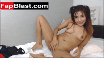Japanese Teen Plays With Her Pussy