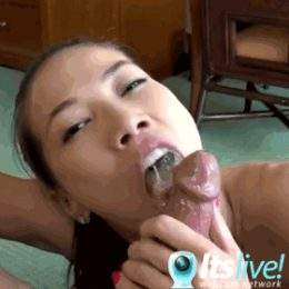 She Drains My Cock Live