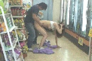 This is what happens when you get horny in the store