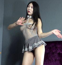 very hairy asian